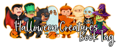 halloween creatures book tag 2