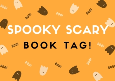 spooky scary book tag