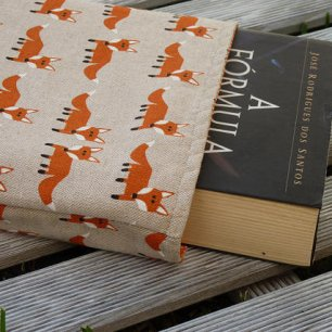 fox book sleeve