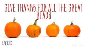 give thanks book tag